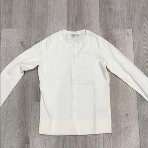 Gap White Cardigan